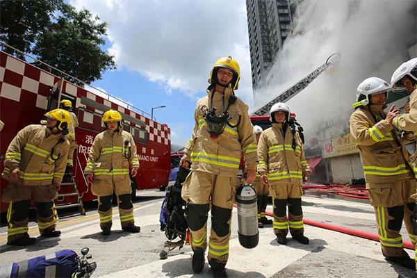 初级建(构)筑物消防员